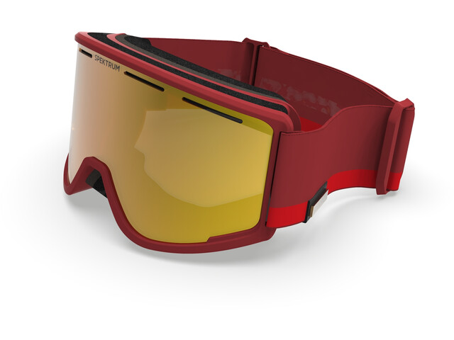 Spektrum Templet Goggles Duo Tone Edition, classic red/zeiss brown multi layer gold